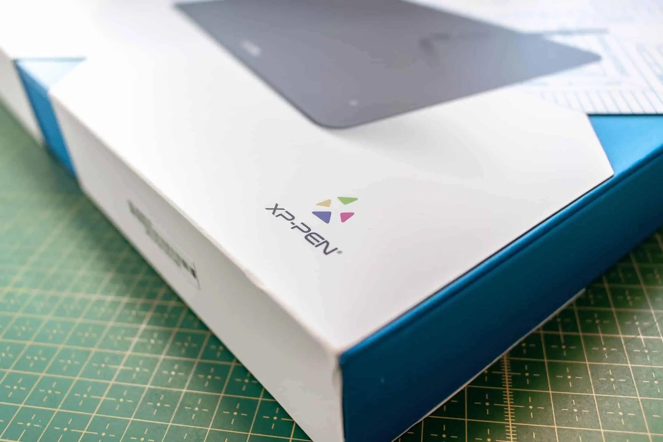 xppen logo - Praca z tabletem graficznym XP PEN Deco 01 v2