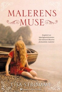 Malerens muse, Edvard Munch, Historisk roman, Lisa Strømme, 1893, Åsgårdstrand