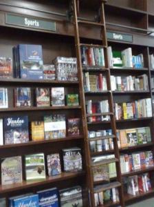 En stige du kan bruke for å nå de øverste bøkene