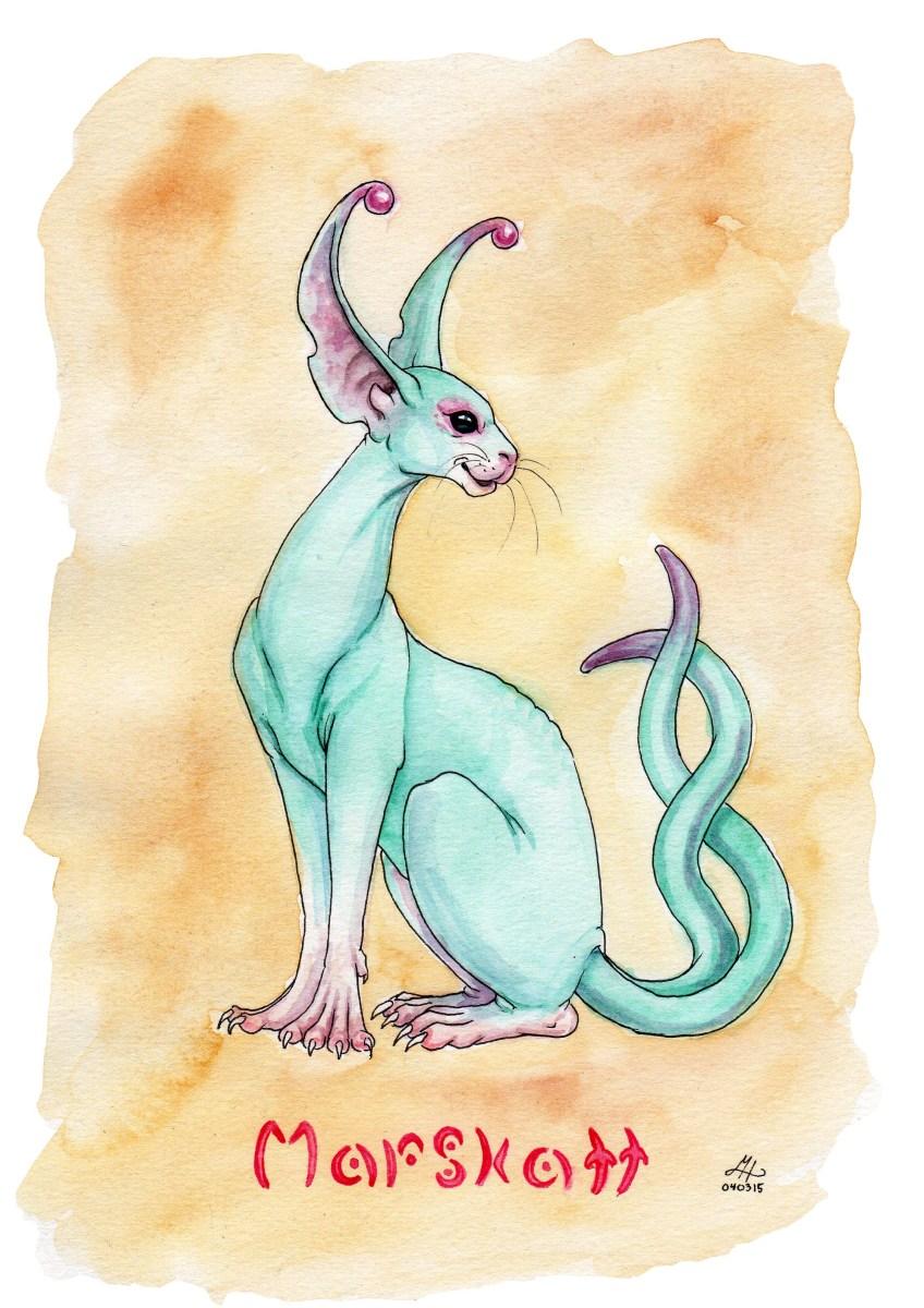 marskatt illustration ordvits