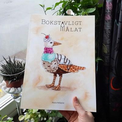 Bokstavligt målat bok