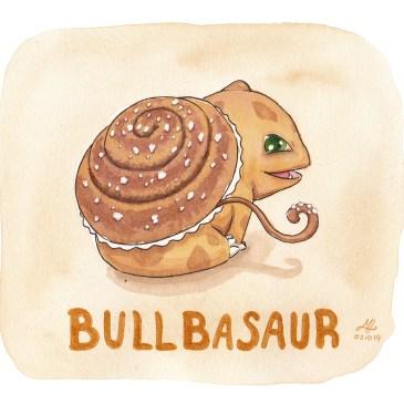 bullbasaur illustration ordvits