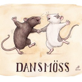 dansmöss illustration ordvits