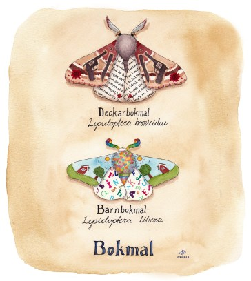 bokmal illustration ordvits
