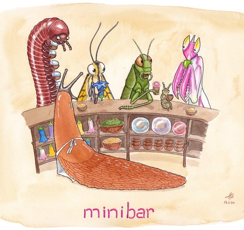 minibar illustration ordvits