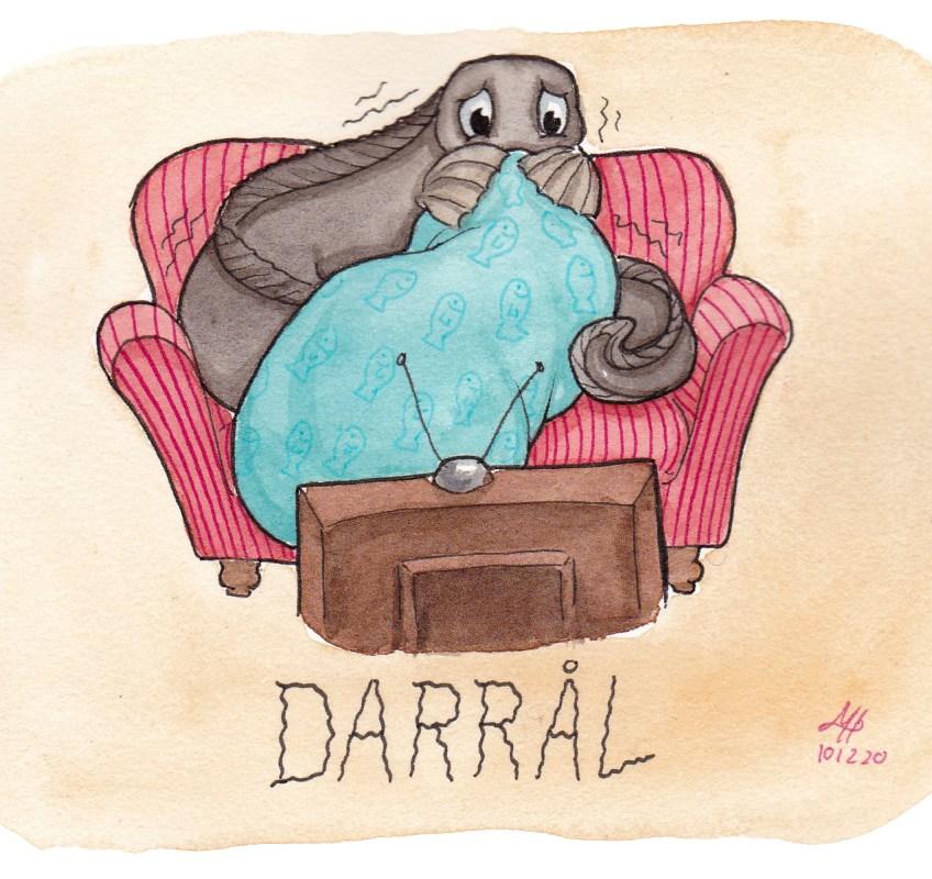 darrål illustration ordvits