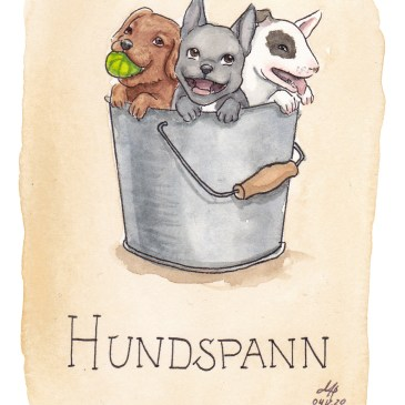 hundspann illustration ordvits