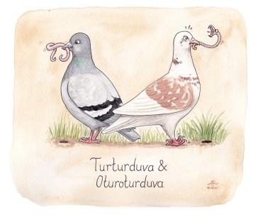turturduva illustration ordvits