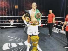 Callym smith po wygranej w finale World Boxing Super Series i zdobyciu Ali Trophy. (fot. WBSS)