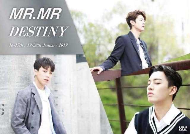 MR.MR 2019 LIVE -DESTINY-