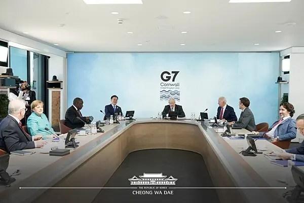 【G7を動物に模した風刺画】日本は納得の生き物?「米に忠実」との評も