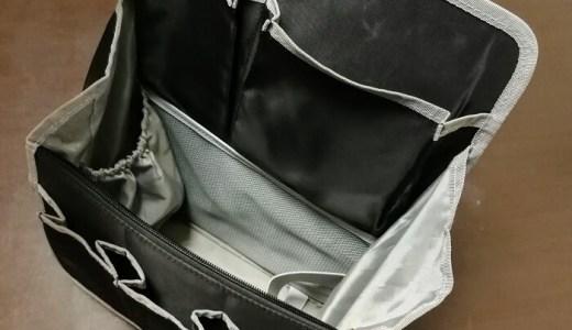 バッグとかリュックを選ぶときに「仕切り」なんて気にするな! 『バッグ イン バッグ』で後から解決だ!