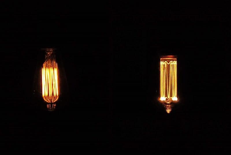 エジソンバルブ発光比較