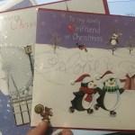 クリスマスの準備!ポストカードを送ろう!