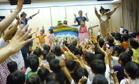 京都保育園でお誕生日会イベントコンサート