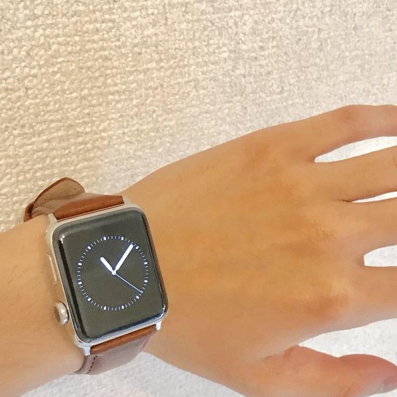 apple watch自分目線