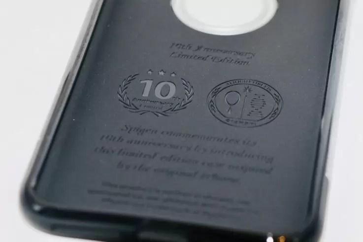 10周年記念の刻印