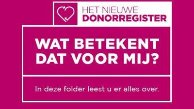 Digitaal spreekuur hulp bij donorregistratie
