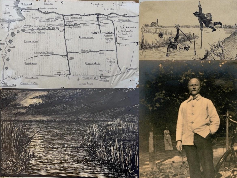 Bol an 175:    Vischclub  'Op hoop van zegen' van Toon de Jong  1903  Deel 2