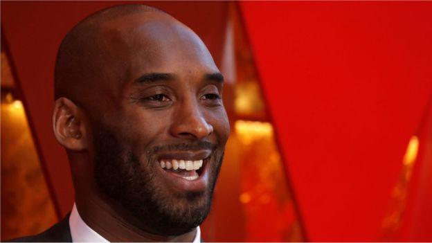 Kobe Bryant peraih lima kali juara NBA dan satu Piala Oscar