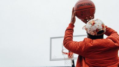 Shooting Bola Basket