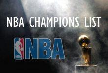 Daftar Juara NBA Lengkap