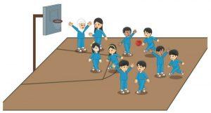 Bermain bola basket secara sederhana 3
