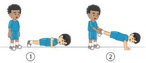 Latihan daya tahan otot lengan dan bahu