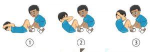 Latihan kekuatan otot perut (sit up)