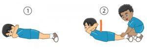 Latihan kekuatan otot punggung (Back up)