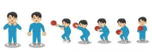 Menangkap bola permainan bola basket