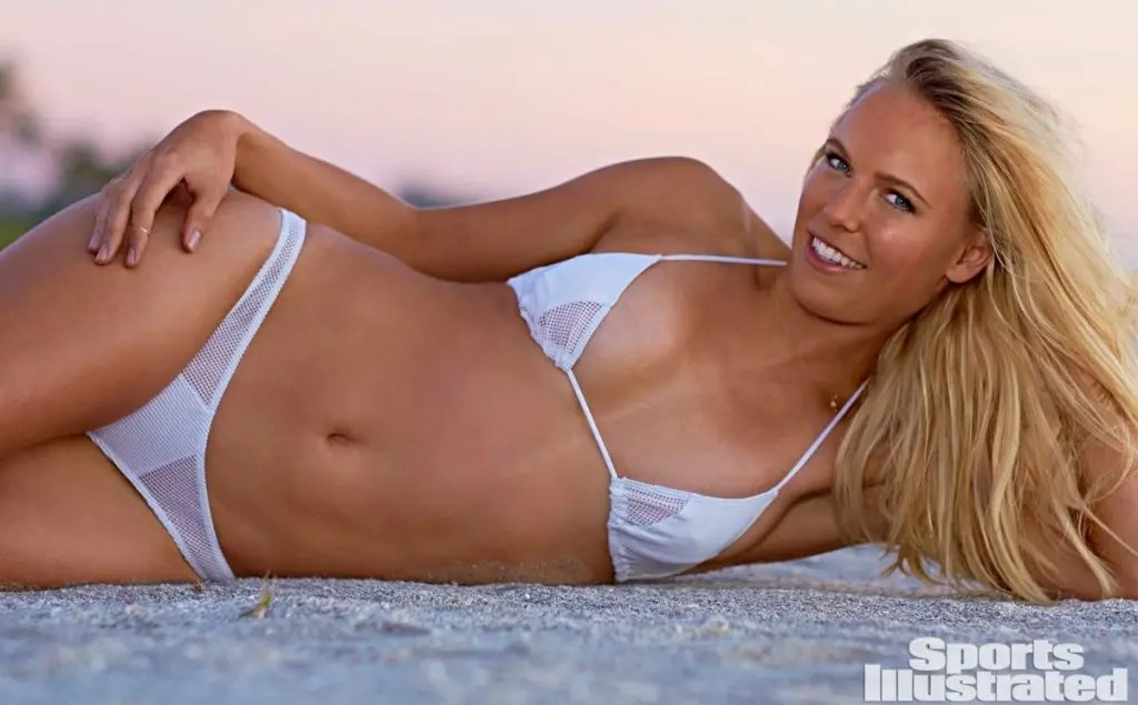 Caroline Wozniacki brilha na Sports Illustrated com… Sara Sampaio e Irina