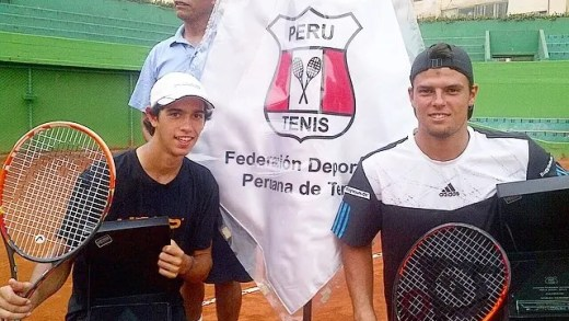 Nuno Borges e Felipe Cunha e Silva campeões de pares no Perú