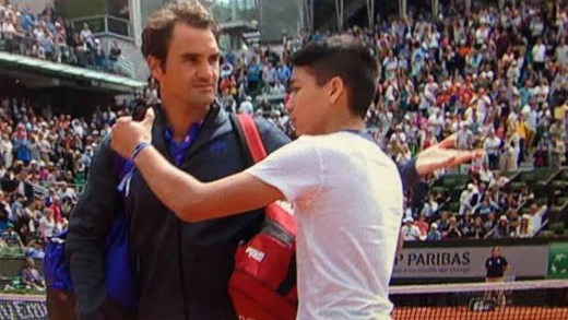 Chris Froome provoca Federer após episódio da selfie