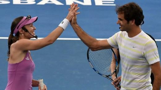 Martina Hingis: «O meu exemplo tornou a vida do Federer [e de outros] mais fácil»