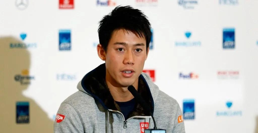 Nishikori: «A situação do meu pulso esteve muito complicada. Ainda não sei se volto em janeiro»