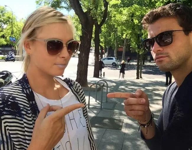 Sharapova admite ter-se reencontrado com ex-namorado Dimitrov há dois meses: «Ele foi muito importante na minha vida»