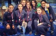 Seleção Nacional feminina defende título europeu de padel no Estoril