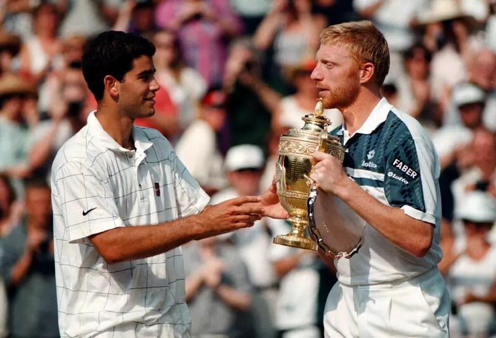 Boris Becker: «O melhor contra quem joguei foi Pete Sampras»