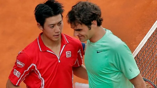 Roger Federerer e Kei Nishikori são os Reis do Google nos seus países