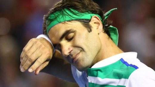 A verdadeira razão da lesão de Federer tem um banho das filhas pelo meio