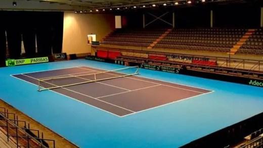 Taça Davis: 'Court' pronto para receber eliminatória em Guimarães