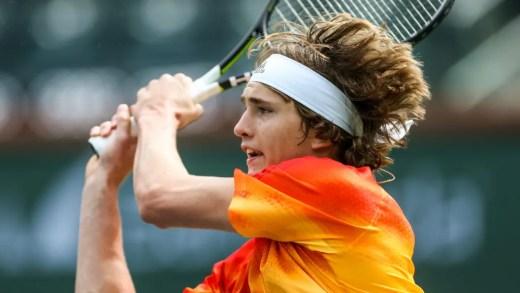 Alexander Zverev avança em Indian Wells