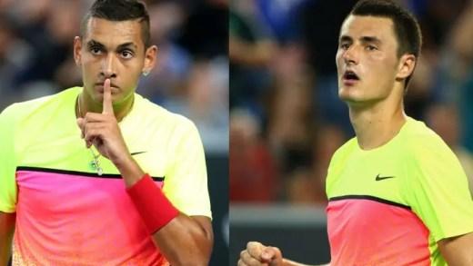 Kyrgios não demora e responde a Tomic: «Vamos falar de quem tem a derrota mais rápida do ATP»