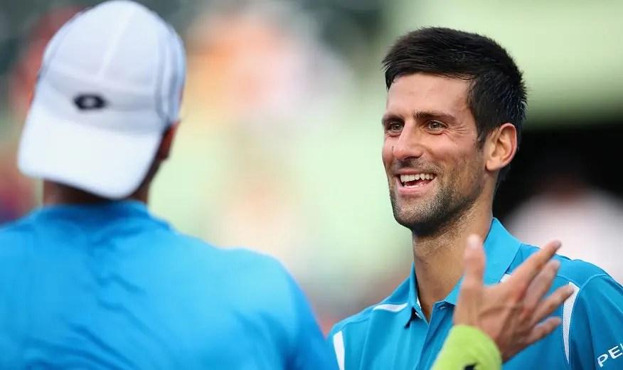 Djokovic desfaz-se em elogios a João Sousa: «Ele é muito talentoso e rápido»