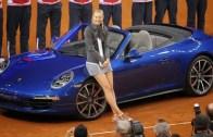 Sharapova volta a 26 de abril em Estugarda mas não pode entrar no pavilhão até esse dia