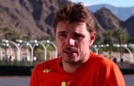 Stan Wawrinka torce o nariz à Davis em 2017