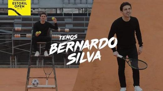 Bernardo Silva passou pelo Estoril e vai apoiar João Sousa em Monte Carlo