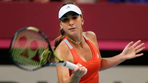 Belinda Bencic está de volta aos treinos
