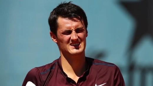 Tomic desiste de Washington e continua sem jogar desde Wimbledon